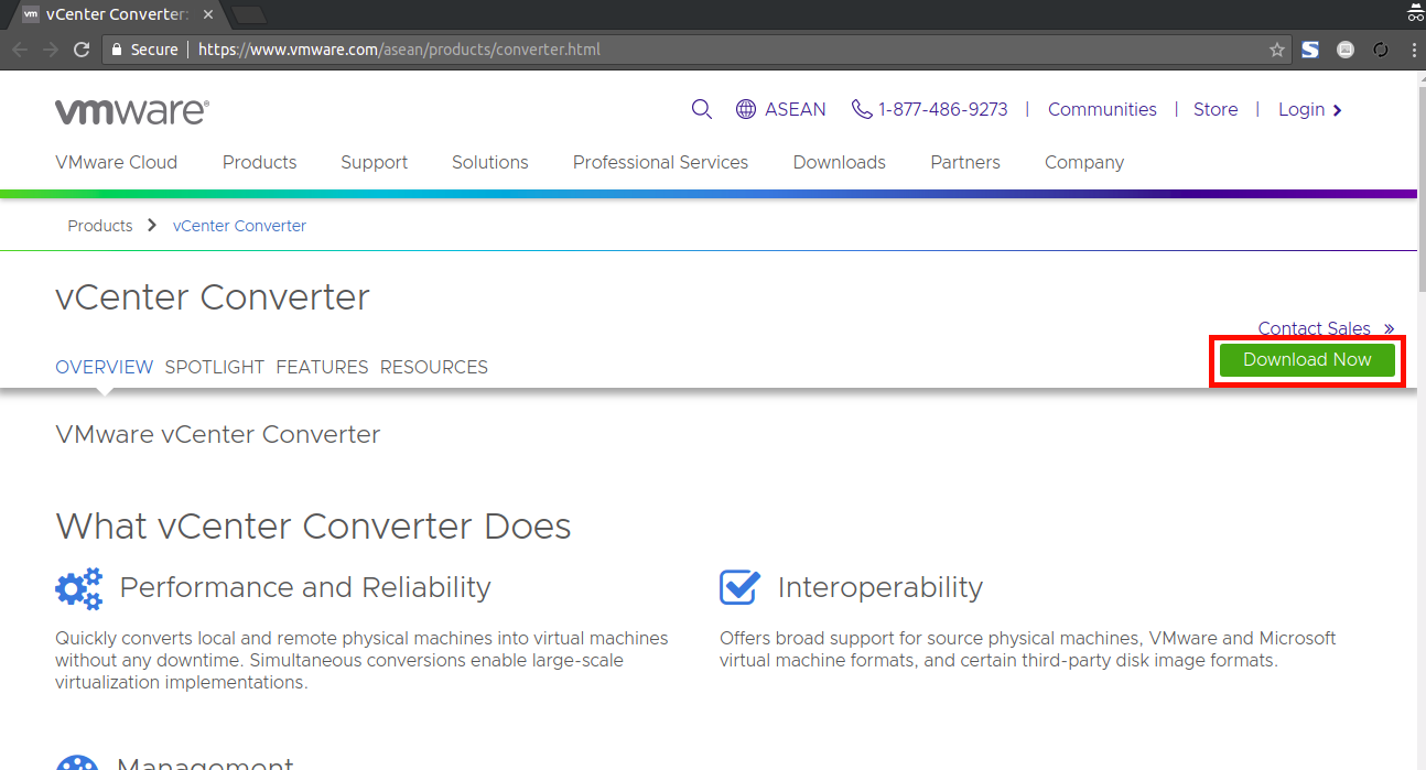 VMWare vCenter Converter: P2V Virtual Machine Converter